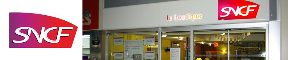 Boutique SNCF