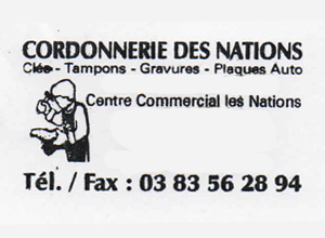 centre commercial les nations vandoeuvre les nancy 54 cordonnerie les nations