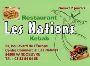 centre commercial les nations vandoeuvre les nancy 54 kebab nations