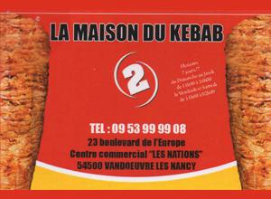 centre commercial les nations vandoeuvre les nancy 54 maison du kebab